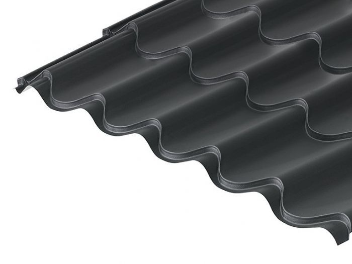 41 1000 tile form 0 6 thick mica coated roof sheet