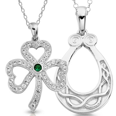Silver Celtic Pendants
