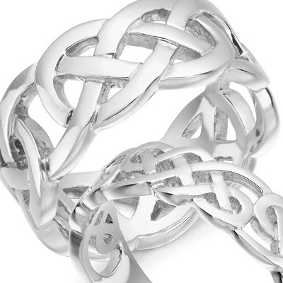 Silver Celtic Rings