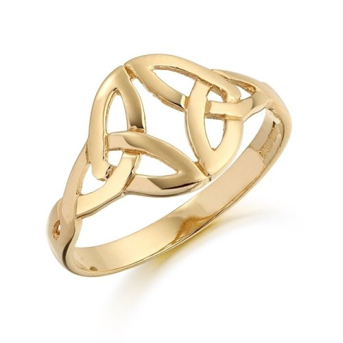 9ct Gold Ladies Celtic Ring - S3239CL