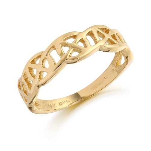 9ct Gold Celtic Ring - 3241CL