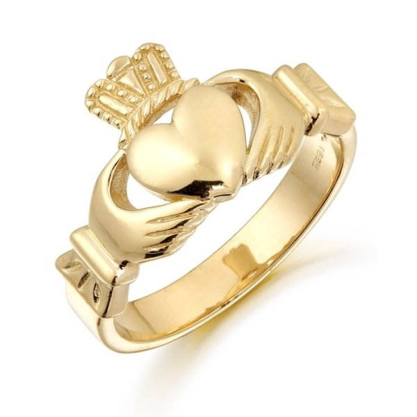 Unisex Claddagh Ring-135ACL