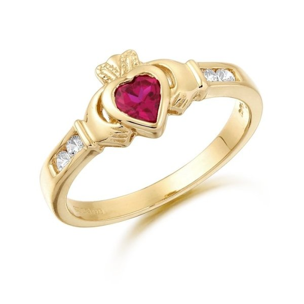 Claddagh Ring-CL100RCL