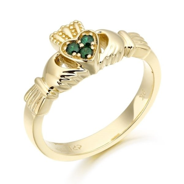 Claddagh Ring-CL16GCL