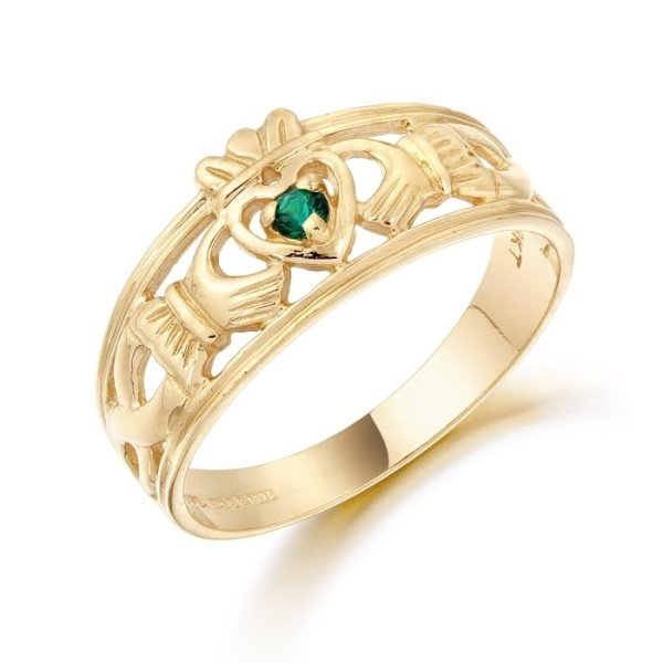 Claddagh Ring-CL26GCL