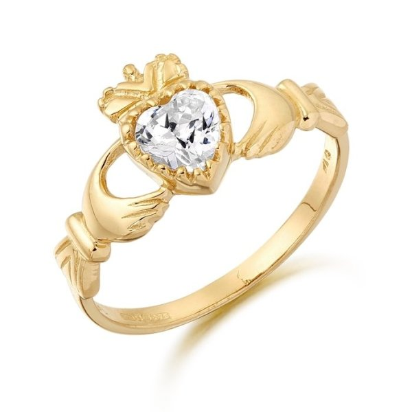 Claddagh Ring-D35CL