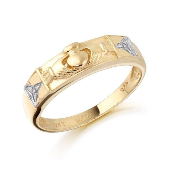Claddagh Wedding Ring-CL14CL