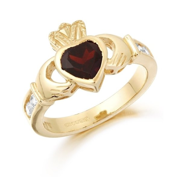 Claddagh Ring-CL102GARCL