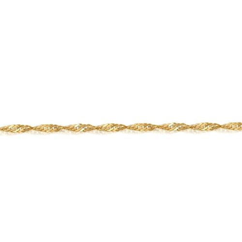 9ct Gold Twisted Curb Chain - DISCO20CL