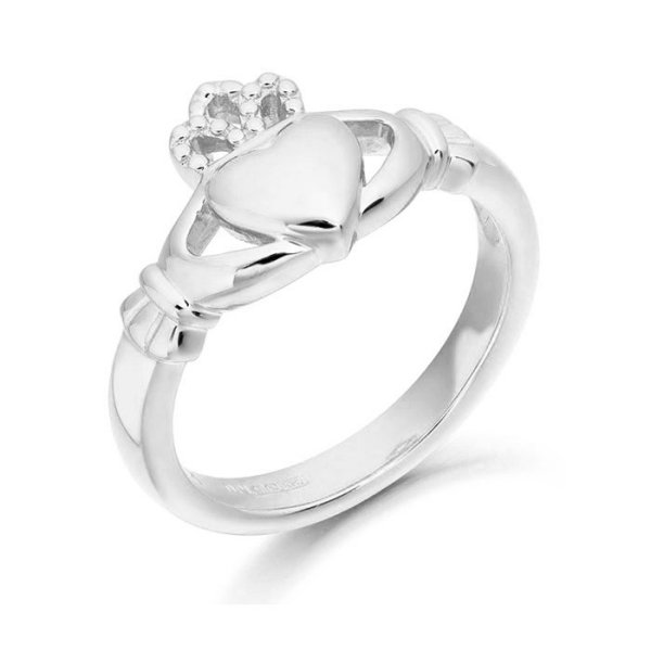 Claddagh Ring-CL2WCL