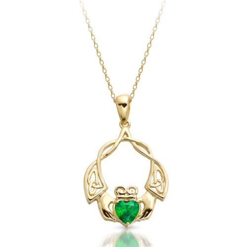 Claddagh-Pendant with Celtic Knot