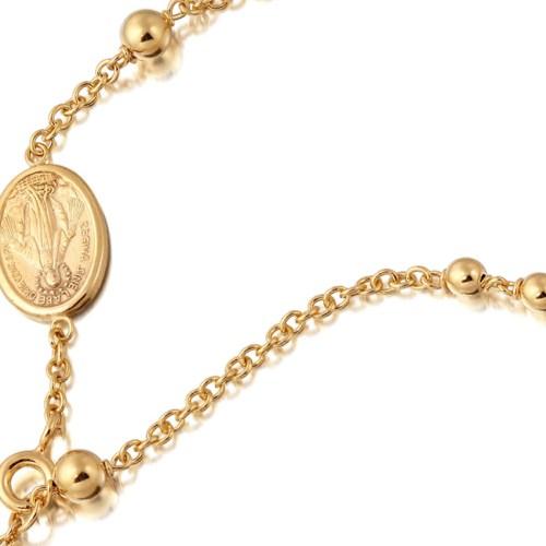 Gold Rosary Bracelets