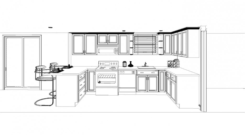 Design Of A Kitchen Layout Cadkitchenplans Com G Shaped Kitchen