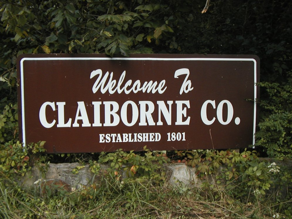 Claiborne County Sign (1)