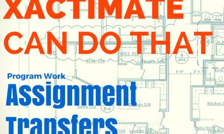 Direct Assignment Transfer via XactAnalysis – Yep, you can do that.