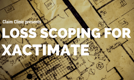 Scoping for Xactimate