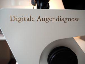 Digitale Augendiagnostik nach dem neuesten Standard