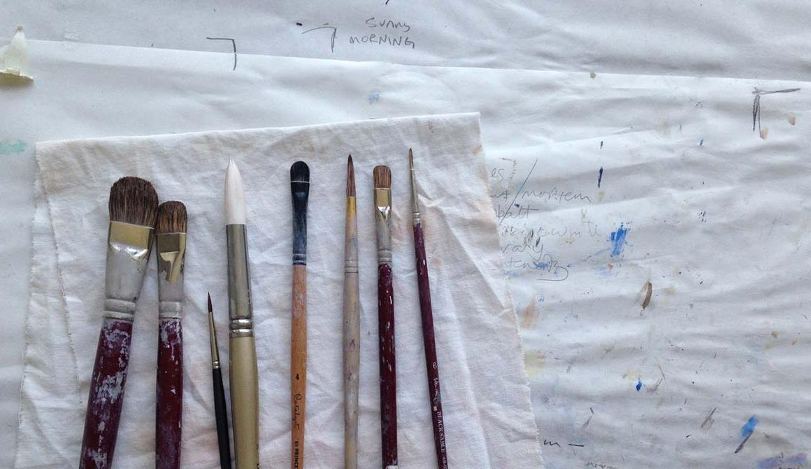 Drying Paint Brushes