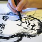 Abe Lincoln Sketch | Claire Dunaway Studios