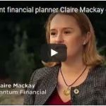 Independent financial planner Claire Mackay Quantum Financial