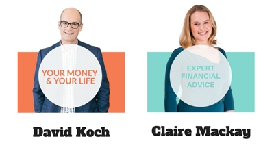 Claire Mackay and David Koch