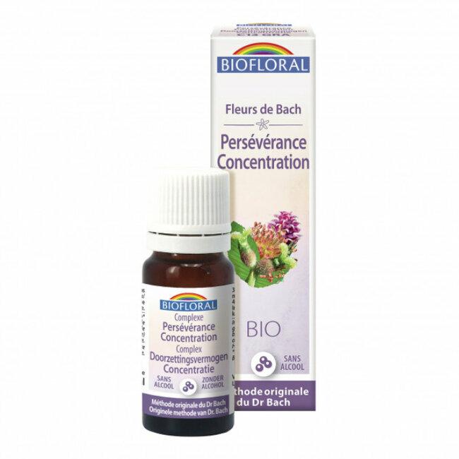 Persévérance - Complexe n°13 Fleurs de Bach bio granules sans alcool