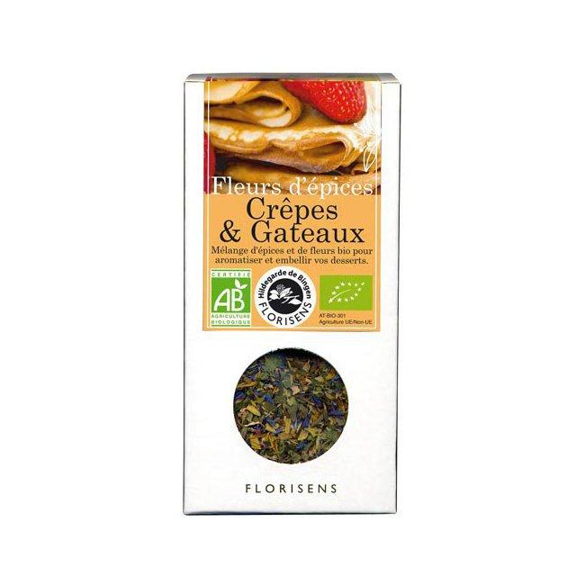 Fleurs d'épices bio Crêpes et Gâteaux pour la cuisine 35g