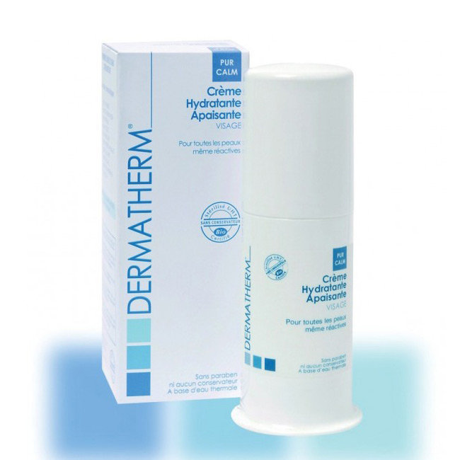 PurCalm Crème hydratante apaisante bio Visage 50ml