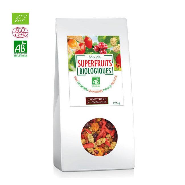Mix Superfruits bio Goji, cranberries, mulberries 125g