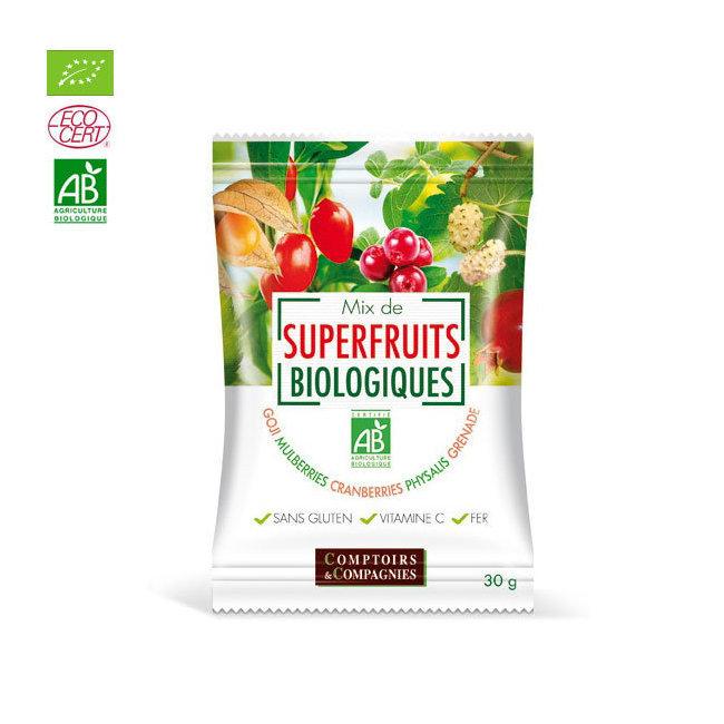 Mix Superfruits bio Goji, cranberries, mulberries 30g