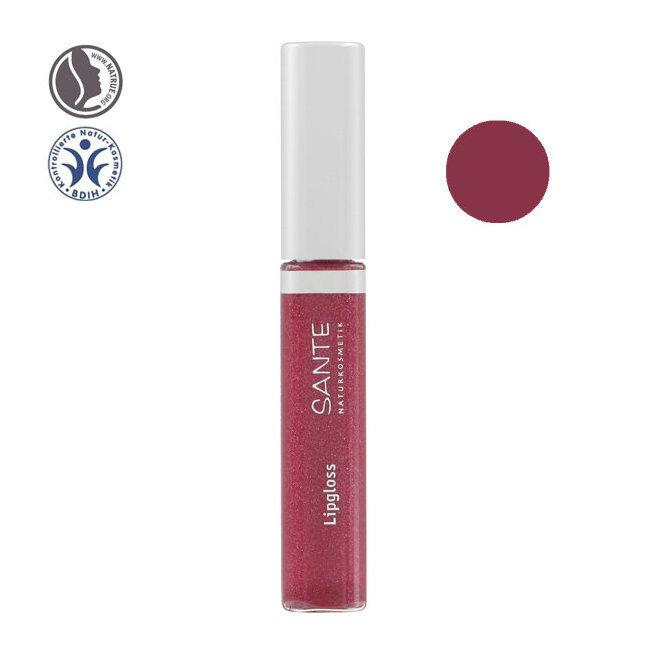Gloss à lèvres bio n°04 Red pink 8ml