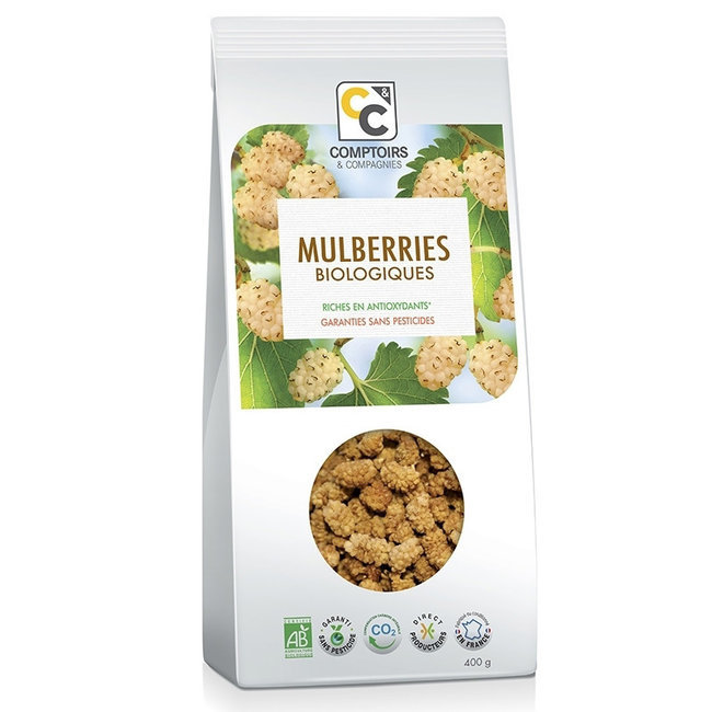 Mulberries bio séchées 400g