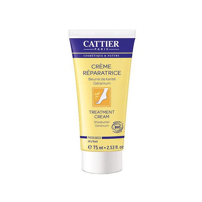 Crème réparatrice pieds secs bio au beurre de karité 75ml