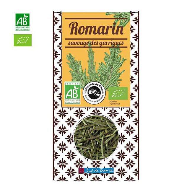 Romarin bio sauvage des garrigues - Boîte de 30g