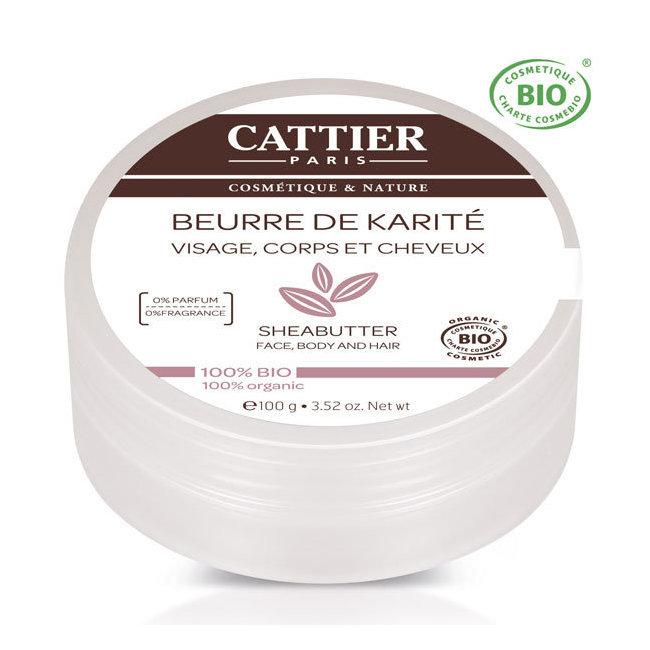 Beurre de karité bio nature - visage, corps, cheveux 100g