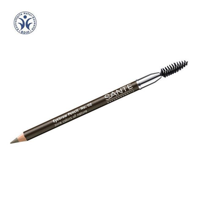 Crayon à sourcils n°02 Marron avec brosse 1,4g