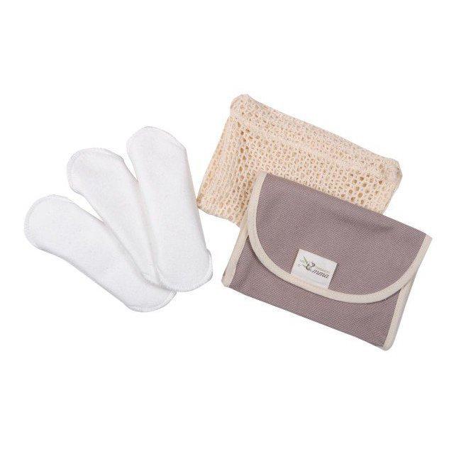 Kit Eco Libri - 3 Protège slips lavables + Pochette de transport