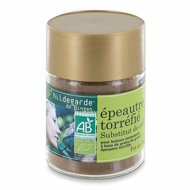 Epeautre torréfié bio - Substitut de café - Pot de 50g