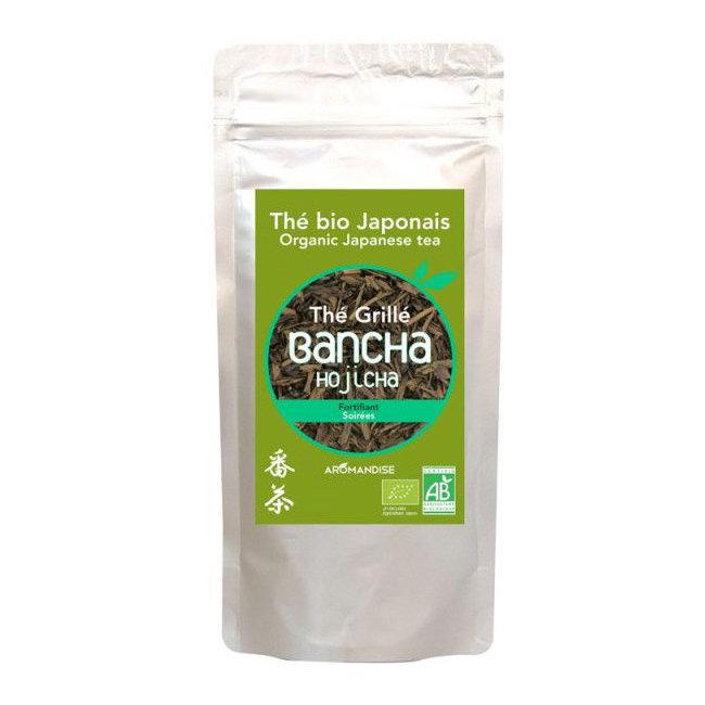 Thé vert bio grillé Hojicha Bancha 60g