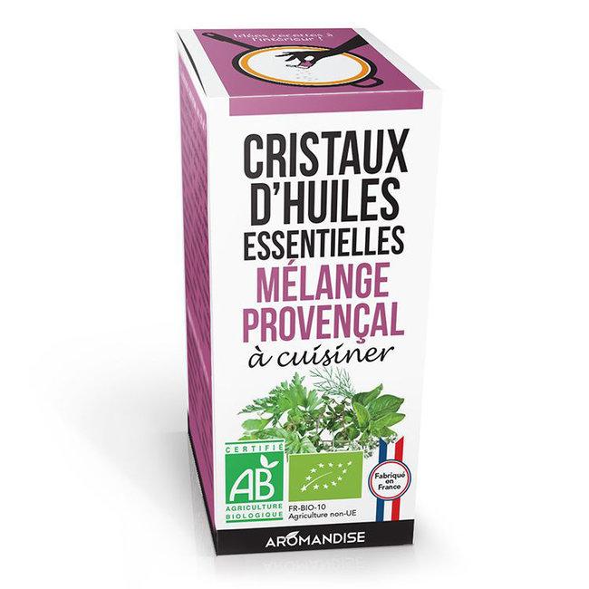 Cristaux d'huiles essentielles Mélange Provençal bio 20g