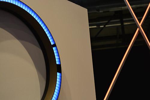 Ford GT LED clock