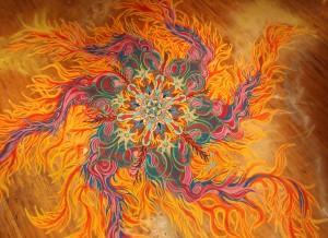 Joe Mangrum Sand Paintings