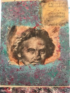TN-center stage face in this abstract mixed media painting copy