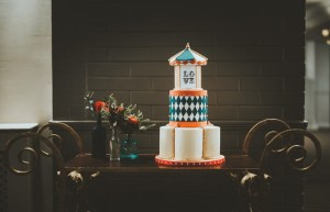 A cake stand that's also a table