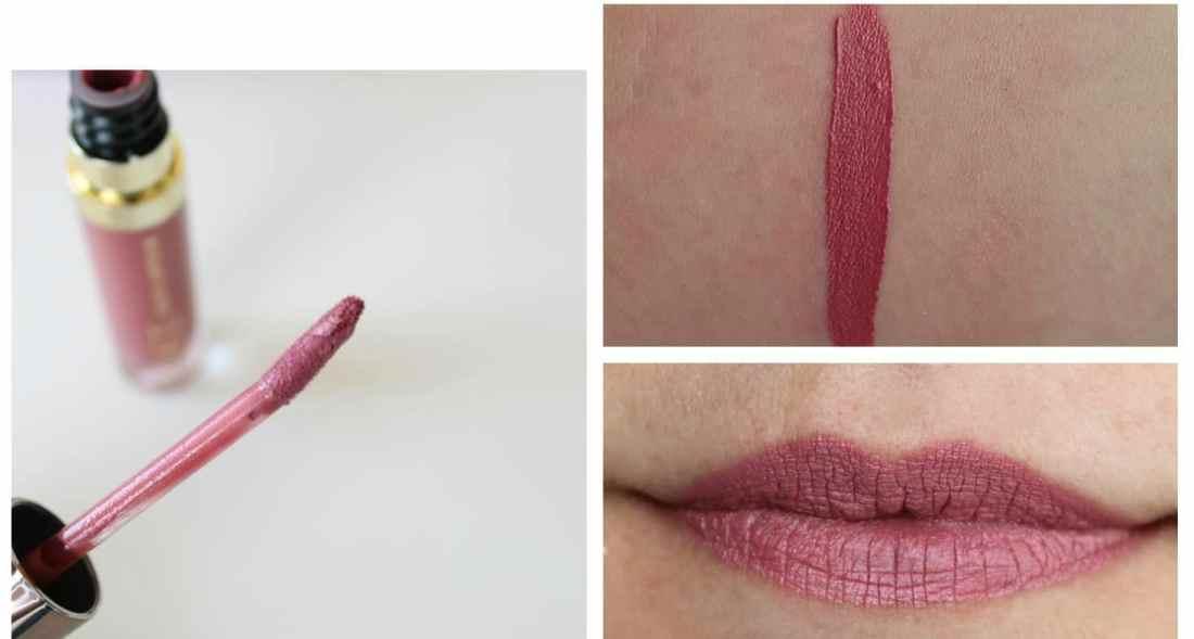 Urban Decay Vice Waterproof Long Lasting Liquid Lipstick in Trivial swatch