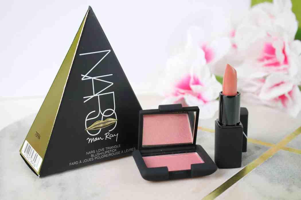 NARS x Man Ray Love Triangle Blush Lipstick Set