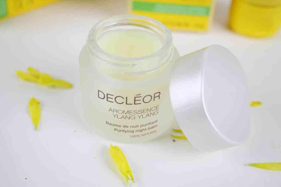 Decleor AROMESSENCE YLANG YLANG purifying night balm jar