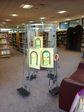 At the Library Meccano commission
