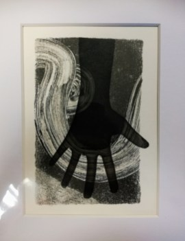 Finding a Way, Monotype & Screenprint, Unique, 12 x 17 cm, £5