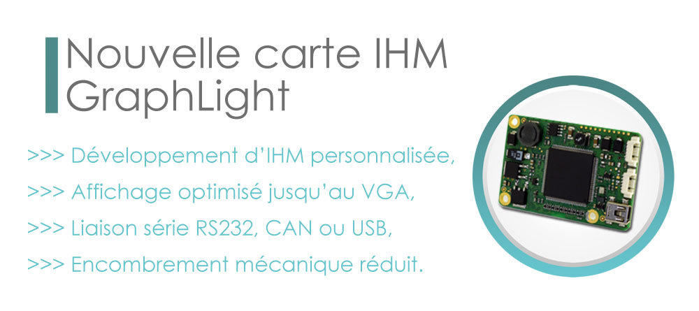 Carte IHM Clairitec Graphlight